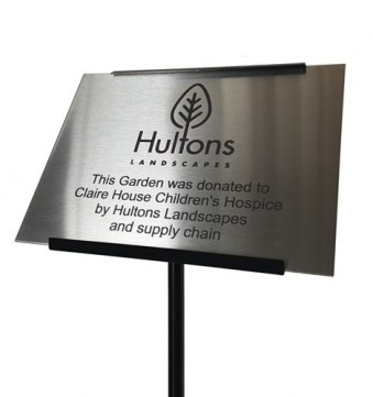 Stainless Steel Commemorative Plaque